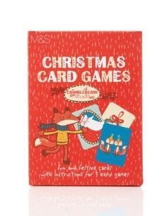 Crimbleberry Christmas Card Games