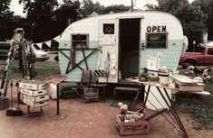 traveling flea market camper | share this email facebook twitter stumbleupon google reddit digg