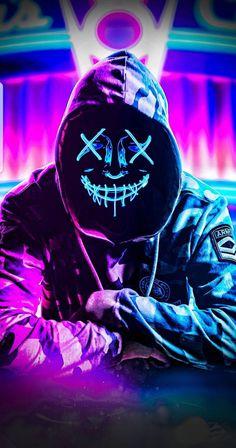 - Neon Hoodie Mask iPhone Wallpaper livewallpaperswid… iPhone Wallpape… – Iphone W - Bape Wallpaper Iphone, Wallpaper Animé, Joker Hd Wallpaper, Hacker Wallpaper, Graffiti Wallpaper, Marvel Wallpaper, Wallpaper Keren, Cellphone Wallpaper, Wallpaper Downloads