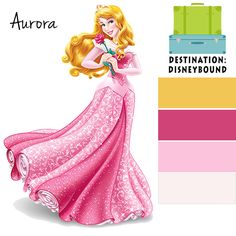 the color scheme of disney animated princesses and princes Disney Princess Bedroom, Disney Princess Colors, Disney Colors, Princess Room, Colour Pallette, Colour Schemes, Palette, Sleeping Beauty Art, Aurora Disney