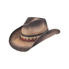 b5b434ece031d Black Hogan Cowboy Hat by Peter Grimm Hats