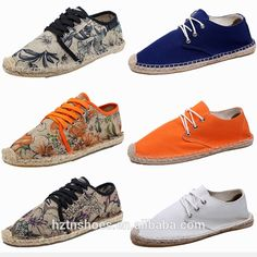 Check out this product on Alibaba.com App:2015 New design Men Espadrilles Jute Sole Canvas Casual Shoe With Lace https://m.alibaba.com/NFJB7r