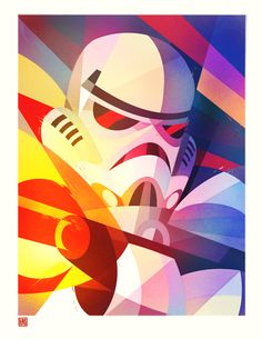 Geometric stormtrooper