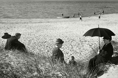 Herbert List GERMANY. Picnic by the Baltic. 1930. Magnum Photos Photographer Portfolio