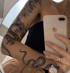 Discovered by 𝕒𝕝𝕪. Find images and videos about tattoo, ink and tats on We Heart It - the app to get lost in what you love. Dope Tattoos, Pretty Tattoos, Mini Tattoos, Body Art Tattoos, Small Tattoos, Tatoos, Arabic Tattoos, Gypsy Tattoos, Rebellen Tattoo