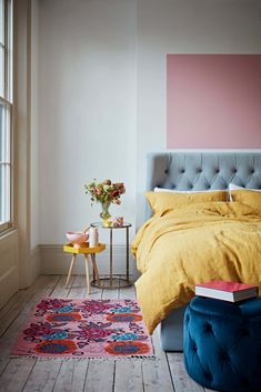 Want To Get Your Home Into An Interiors Magazine? Here's How... - We Love Home Quirky Bedroom, Bedroom Decor, Bedroom Ideas, Hygee Home, Scandi Home, Interiors Magazine, Bedroom Images, Pink Room, Love Home