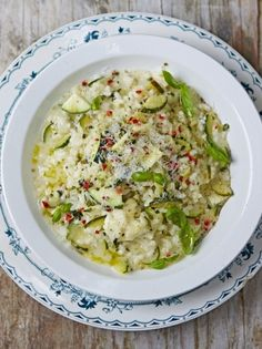 Oozy Courgette Risotto   Jamie Oliver