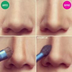 Makeup Tricks That Help Your Nose Look Smaller http://thepageantplanet.com/category/hair-and-makeup/