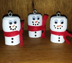 These cute cork ornaments are made from recycled champagne corks and come in a set of 2. Each one is hand painted, different and unique, no two are exactly the same. These are sure to be a unique addition to your Christmas decor.  Please feel free to message me if you are interested in just one snowman or you can also mix and match with a minion or grinch ornament. I would be more then happy to accommodate any special request.