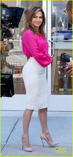 Jennifer Lopez: Viva Movil Commerical Shoot! | jennifer lopez viva movil commercial shoot 01 - Photo
