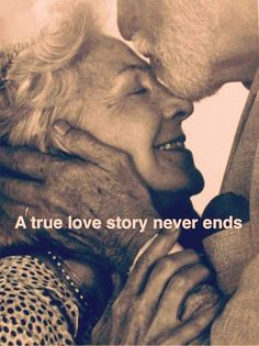 A verdadeira história de amor nunca acaba