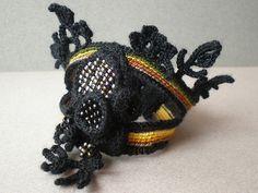 Scorpion Freeform Crochet Cuff | Flickr - Photo Sharing!