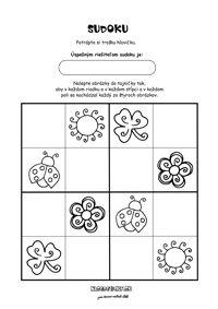 Obrázkové sudoku - lienka