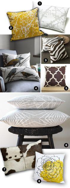 Contemporary Throw Pillows