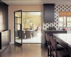 <3metal doors off kitchen to exterior terrace