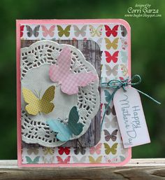 Bug Lover Cards: Cricut Cardz Challenge - Mother's Day