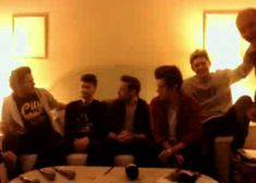 One Direction NRJ twitcam in France (FULL 14.12.13