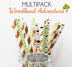 WOODLAND ADVENTURE Multipack Birch Brown Gold by MoreSprinkledJoy