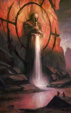 """comix-art: """"El guardian de la Cascada """""""