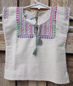 Dress Neck Designs, Kurti Neck Designs, Kurta Designs Women, Designs For Dresses, Blouse Designs, Baby Boy Dress, Baby Girl Dresses, Sewing Kids Clothes, Clothes For Women