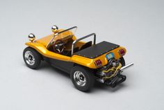 Meyers Manx Dune Buggy with Porsche twin-cam engine from a Fujimi kit, seats from a Big John Willys kit, and Mustang taillights