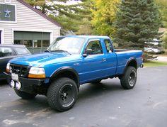 1999 Ford Ranger Regular Cab Specs, Photos, Modification Info at CarDomain Small Trucks, Mini Trucks, Lifted Trucks, Cool Trucks, Chevy Trucks, Pickup Trucks, Ford Ranger Lifted, Ford Ranger Truck, Ranger 4x4