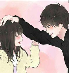 Cheesy sentence you. Anime Couples Drawings, Anime Couples Manga, Cute Anime Couples, Manga Couple, Anime Love Couple, Kawaii Anime Girl, Anime Art Girl, Anime Cosplay, Anime Siblings