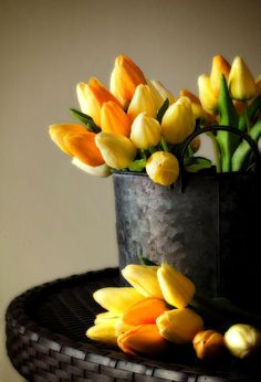 Ana Rosa. Because of Kingsday I pin these wonderful orange tulips