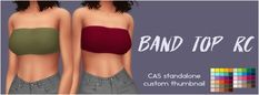 Simsworkshop: Band Top by Sympxls • Sims 4 Downloads