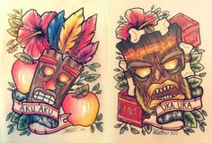 crash bandicoot tattoos  | aku aku | Tumblr