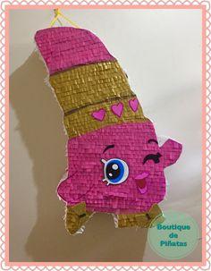 Shopkins • Piñata • Lippy Lips • $580 | 2 días para hacerla + 5-6 días hábiles de envío a todo México |