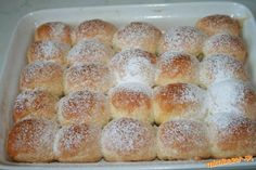 Super rýchle buchtičky Czech Recipes, Bread And Pastries, Home Baking, Sweet Cakes, Scones, Sweet Recipes, Biscuits, French Toast, Muffin
