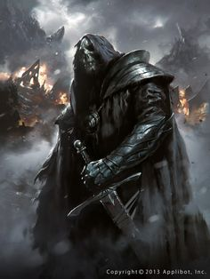 Want to discover art related to fantasy? Check out inspiring examples of fantasy artwork on DeviantArt, and get inspired by our community of talented artists. Dark Fantasy Art, Fantasy Artwork, Dark Art, Fantasy Warrior, Dark Warrior, Undead Knight, Death Knight, Knight Sword, Illustration Fantasy
