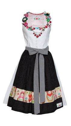 Never seen such a funny Dirndl.... :) Like it