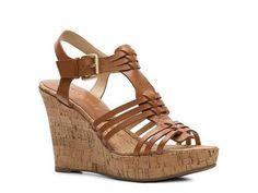 Audrey Brooke Carina Wedge Sandal Women's Wedge Sandals All Women's Sandals Sandal Shop - DSW