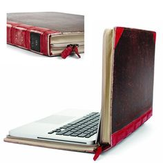 BookBook cover camouflages your MacBook Pro.