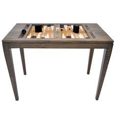 Backgammon Table Driftwood | Nina Campbell Nina Campbell
