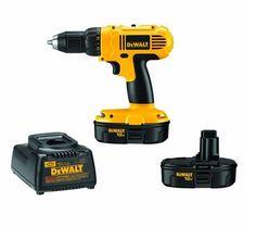 DEWALT 18V Drill Driver Kit Electric Cordless Screwdriver DIY Home Improvement #DeWalt
