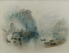 Burgen Am Rhein - William Turner.