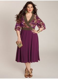 6a63e100b7 Callie Dress from igigi - wore this to a party recently. Plus Size ...