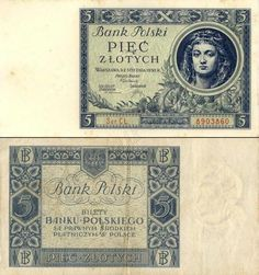 Banknoty polskie - Ilustrowany zbiór polskich banknotów Poland Culture, Wheel Alignment, European History, Coin Collecting, Coins, Nostalgia, Vintage, Money, Painting & Drawing