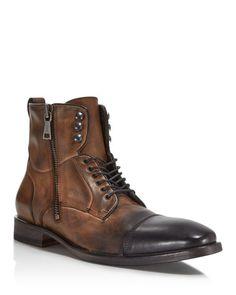 John Varvatos Fleetwood Service Boots #MensFashionBoots