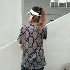 6ef6fad4390d グッチ Tシャツ 半袖 レディース tシャツ コピー GUCCI カジュアルウェア GG ロゴ Tシャツ 春夏 服 大人 トップス 無地 ゆったり  送料無料