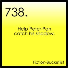Help Peter Pan catch his shadow