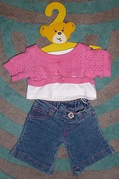 BUILD A BEAR ~ Jumper and Jeans Outfit