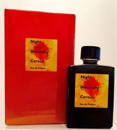 Night Blooming Cereus Eau de Parfum 15 ml. bottle. Contact RoguePerfumer@me.com to purchase.