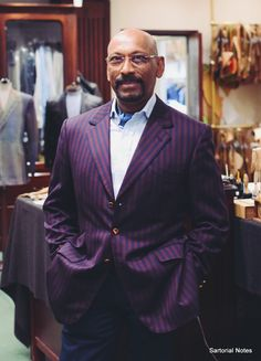 Tailor Andrew Ramroop of Maurice Sedwell on Savile Row