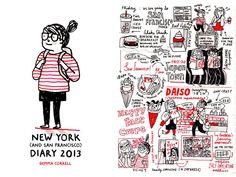 Gemma Correll - New York (and San Francisco) Tour Diary Preorder
