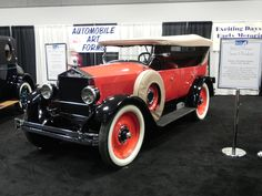 1923 6-40 Moon Touring - Another car which modeled its radiator after Rolls Royce, Moon Motor Car Company made vehicles from 1905-1930 in St Louis, Missouri.