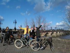 Temps magnifique pour une #balade à vélo #Bordeaux #BdxBikeTour #visiterBordeaux
